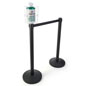 Lobby Stanchion Wipes Dispenser