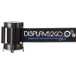 Crowd Control Black Custom Stanchion Belt with 3 Color Printing