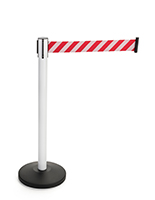 Affordable Steel Reflective Belt Stanchions