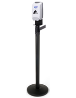 Sanitizer Stanchion Station, Rubber Bottom