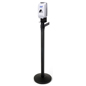 Sanitizer Stanchion Station for Crowd Control