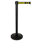 Social distancing stanchion barrier with 41.5 inch height