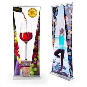 New 3-Dimensional Retractable Banners