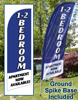1-2 Bedroom Flags