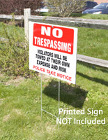 Sign Stakes