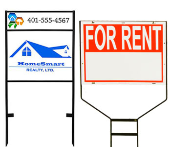 Real Estate Sign Holders