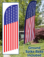 Patriotic Feather Flags