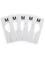Medium Clothing Rack Size Dividers