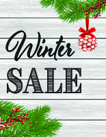 Cottage Winter Sale