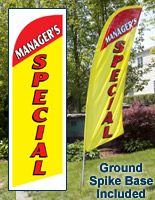 Managers Special Feather Flags