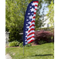 Patriotic Feather Banners