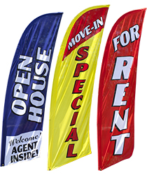 Real estate replacement flags