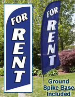 FOR RENT Flag