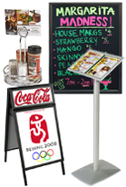 Restaurant Menu Displays