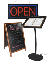 Restaurant Signage - Sidewalk Signs & More