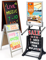 Menu Displays for Digital Presentations