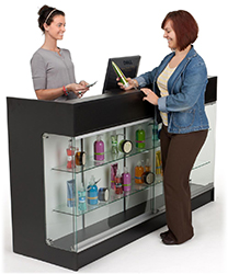 Retail Display Counters Checkout