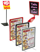 Sign Display Holders