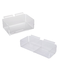 Retail Slatwall Bins & Baskets