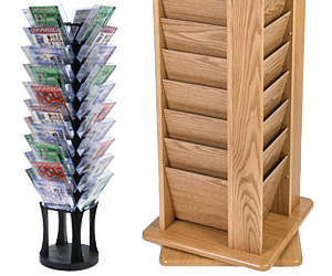 Revolving Literature Stands