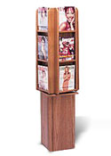 Rotating Literature Stand