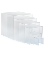 Frosted Acrylic Riser Stands