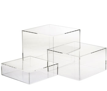 Acrylic Product Display Risers