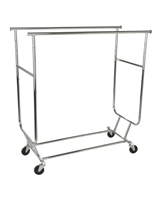 Floor Standing Collapsible Garment Rack