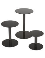 Tiered Countertop Display Pedestals