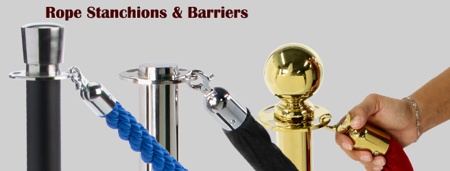 rope stanchions barriers
