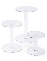 Tiered Acrylic Pedestal Risers