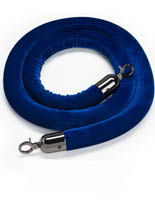 6.5' Blue Crowd Control Rope