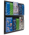 Wall Mount Brochure Holders with Acrylic Pockets