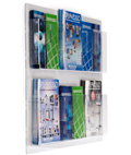 Acrylic Wall Mounted Magazine Racks
