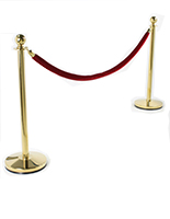 Stanchion Post & Rope