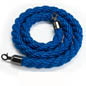 Blue Nylon Stanchion Rope for Events