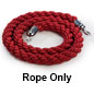 "78"" Red Twisted Rope"