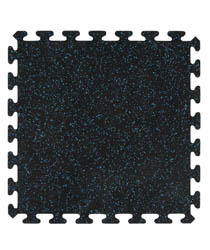 2' x 2' Interlocking Rubber Floor Tiles