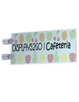 Hallway Sign Holder - Landscape Orientation