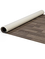 10' x 10' Portable rollable vinyl event flooring in tan woodtone