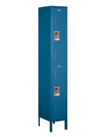Double Tier Storage Locker Compatible with Combination Locks