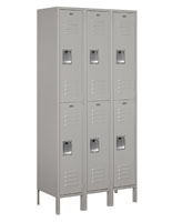 Double Tier Work Locker  with Lift Up Handles