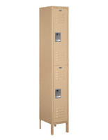 Powder Coated Double Tier Sports Locker