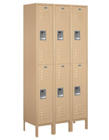 Powder Coated Double Tier School Locker