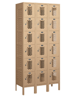 Box Style 6 Tier Storage Locker