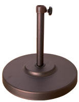 Bronze Patio Umbrella  Base