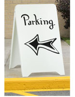 Restaurant Sandwich Board Signs