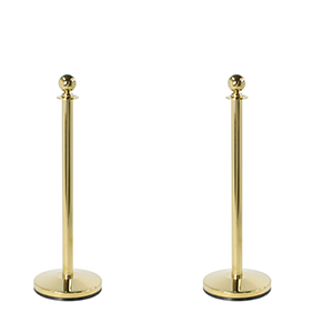 brass crowd stanchions