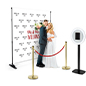 All in one step and repeat photo booth