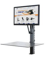 Standing Desk Converter, Height Adjustable